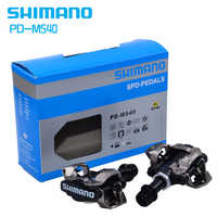 ShimanoPD-M540 Selbst-Verriegelung Klick SPD Bike Pedal M540 MTB Berg Fahrrad Padals Mit Original PD22 Stollen