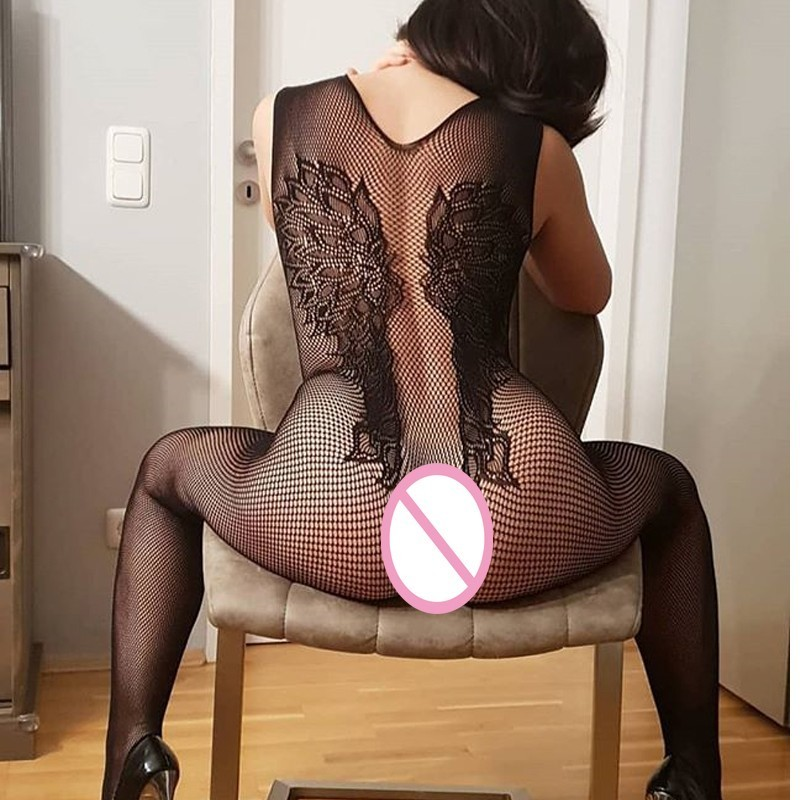 Porno Sexy Lingerie Plus Size Women Crotchless Sexy Underwear Sleepwear Sexy Costume Lenceria Erotica Mujer Sexi Nuisette QQ367
