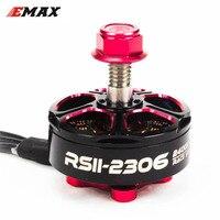 4Pcs/Set Emax RSII 2306 Brushless Motor 2 6S Lipo 1600KV 1700KV 1900KV 2400KV 2600kv CW CCW Motor for FPV Racer Drone Quadcopter