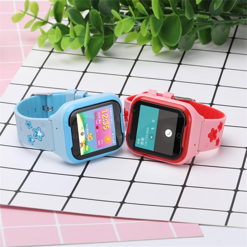DF40 детская 4G вызова часы мобильный поддержка голос gps видео вызова сети Android 6,0 SOS смарт