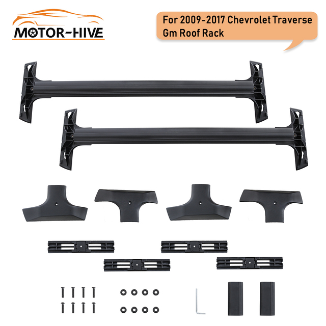 vz4x4 For 2009-2017 Chevrolet Traverse GM Roof Rack Cross Bars Kayak Carrier US