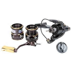 Image 5 - TSURINOYA для рыбалки катушка Jaguar 4000 5000 двойной катушки карп рыбалка катушка 9 + 1BB 5,2: 1 Рыболовная Приманка катушка для спиннинга морской Фидер катушка