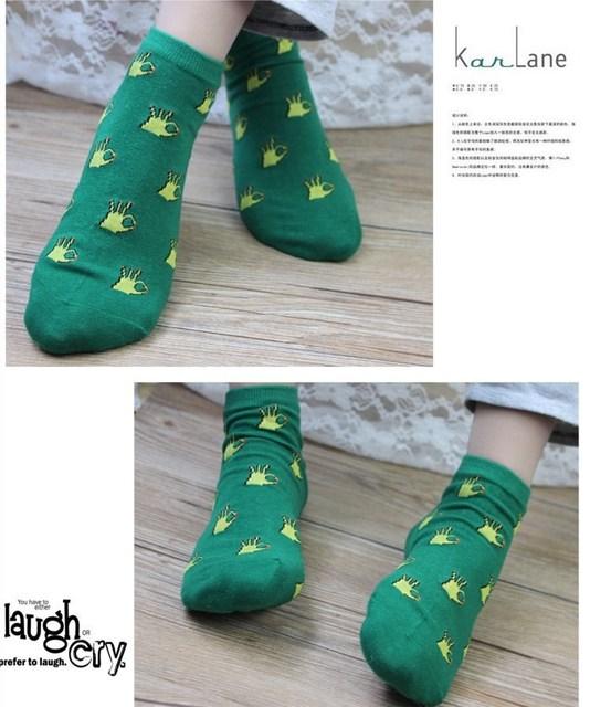 Kawaii Bright Printed Socks