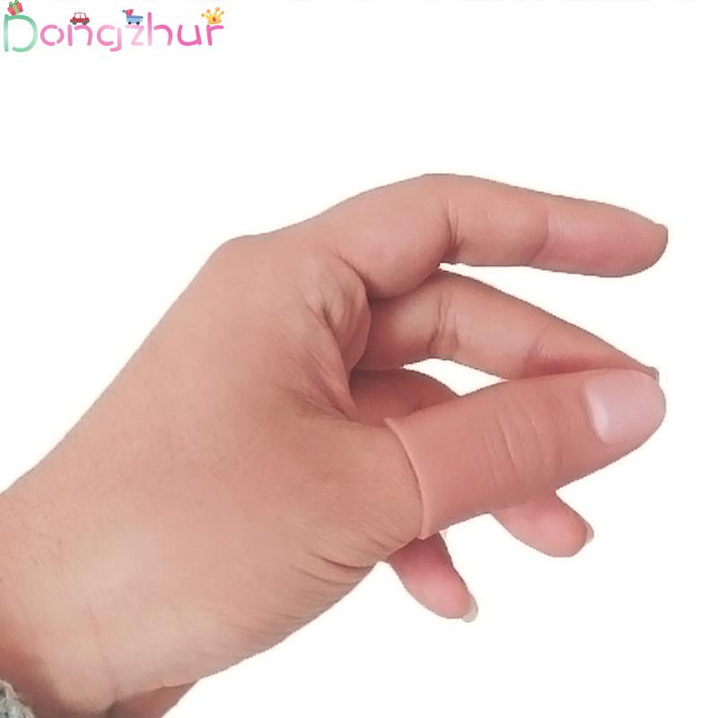Soft Thumb Tip Finger Fake Magic Trick Vinyl Toy Prank Trick Props Close Up Vanish Appearing Finger Thumb Tips
