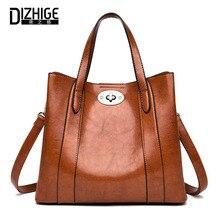 DIZHIGE Luxury Brand Women Bags Fashion Shoulder Bag Designer Handbags High Quality Ladies Casual Tote Hand Sac