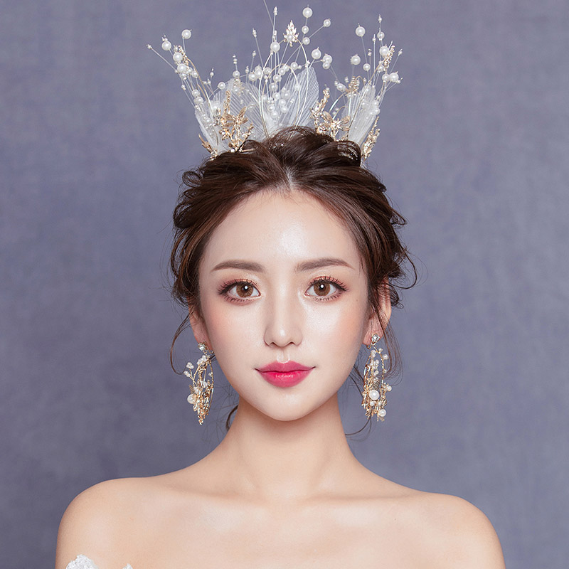 korean full crown wedding
