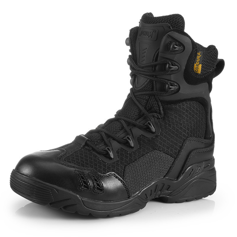 High Tube Army Fans Tactical Desert Hiking Boots Mens Outdoor Climbing Hunting Sports Breathable Military Training