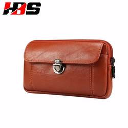 Телефон крышка для Vivo Y55 Y55S Y71 Y75 Y79 Y83 Y85 V7 V9 с несессер, прикрепленный к ремню брюк сумка-мешок на молнии двойные карманы из искусственной кожи