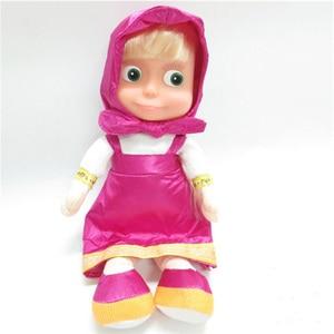 Image 5 - Russian Musical Masha Doll* Bear Plush Stuffed Toys and the Brand Educational For Boys Girls Birthday Christmas New Year Gift