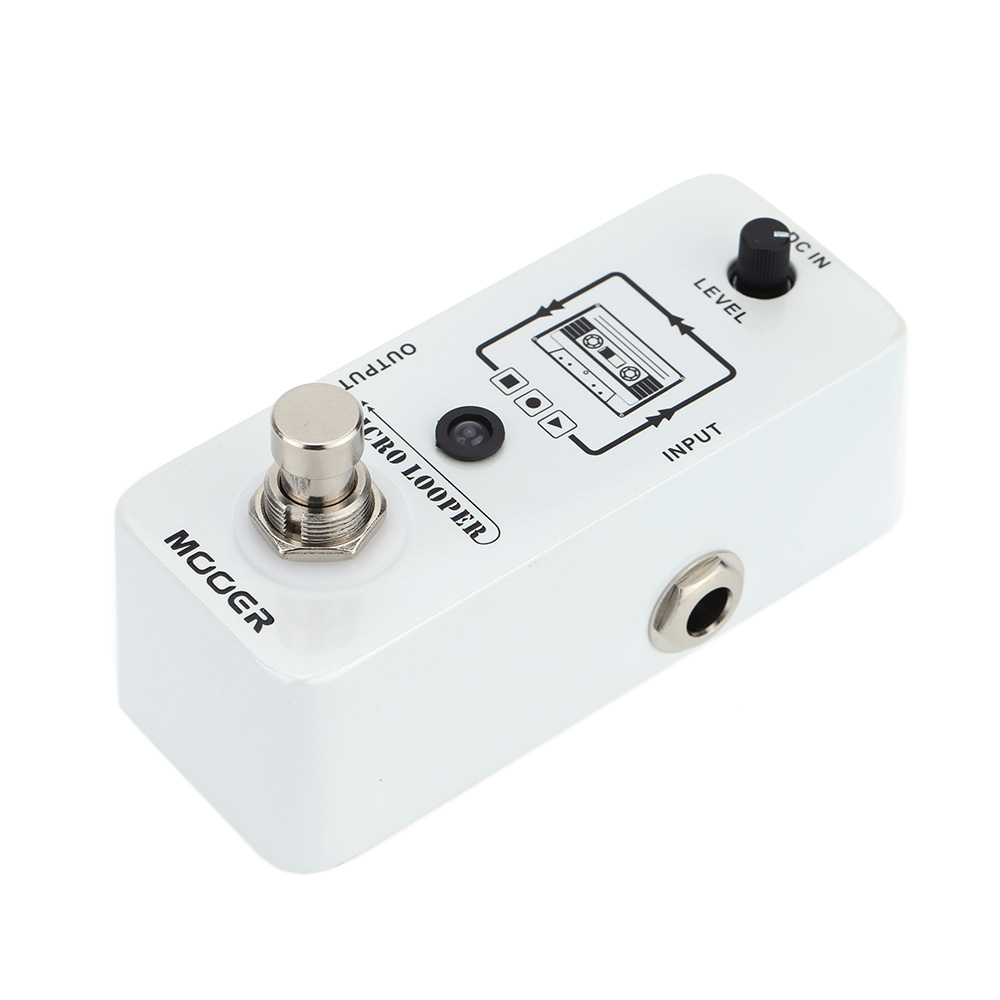 SEWS-Mooer Micro Looper Mini Loop Recording Effect Pedal For Electric Guitar True BypassSEWS-Mooer Micro Looper Mini Loop Recording Effect Pedal For Electric Guitar True Bypass