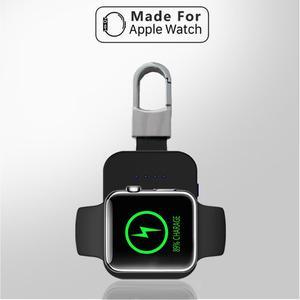 Image 2 - Grande capacidade portátil apple watch 1/2/3 carregador sem fio acessórios do telefone celular chaveiro carregador sem fio portátil novo
