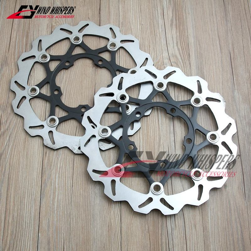 Flower Motorcycle Front Brake Disc Rotor For Suzuki GSXR600 750 06 07 K6 GSXR1000 2005-2008 K5 K6 K7 K8 GSXR 600 750 1000