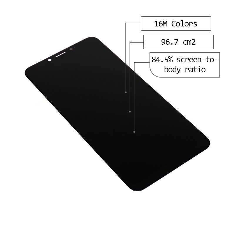 Für Alcatel 5V 5060 LCD mit Touch Screen Digitizer Sensor Montage für Alcatel 5060 Display SmartPhone Teile Freies Verschiffen