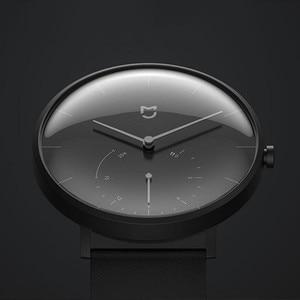 Image 4 - الأصلي شاومي Mijia الكوارتز ساعة ذكية BT IP67 مقاوم للماء الميكانيكية SmartWatch عداد الخطى تذكير ذكي ل أندرويد IOS