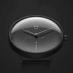 Image 4 - Механические кварцевые часы Xiaomi Mijia, BT, IP67 водонепроницаемые оригинальные смарт часы с шагомером, умными напоминаниями для Android, iOS