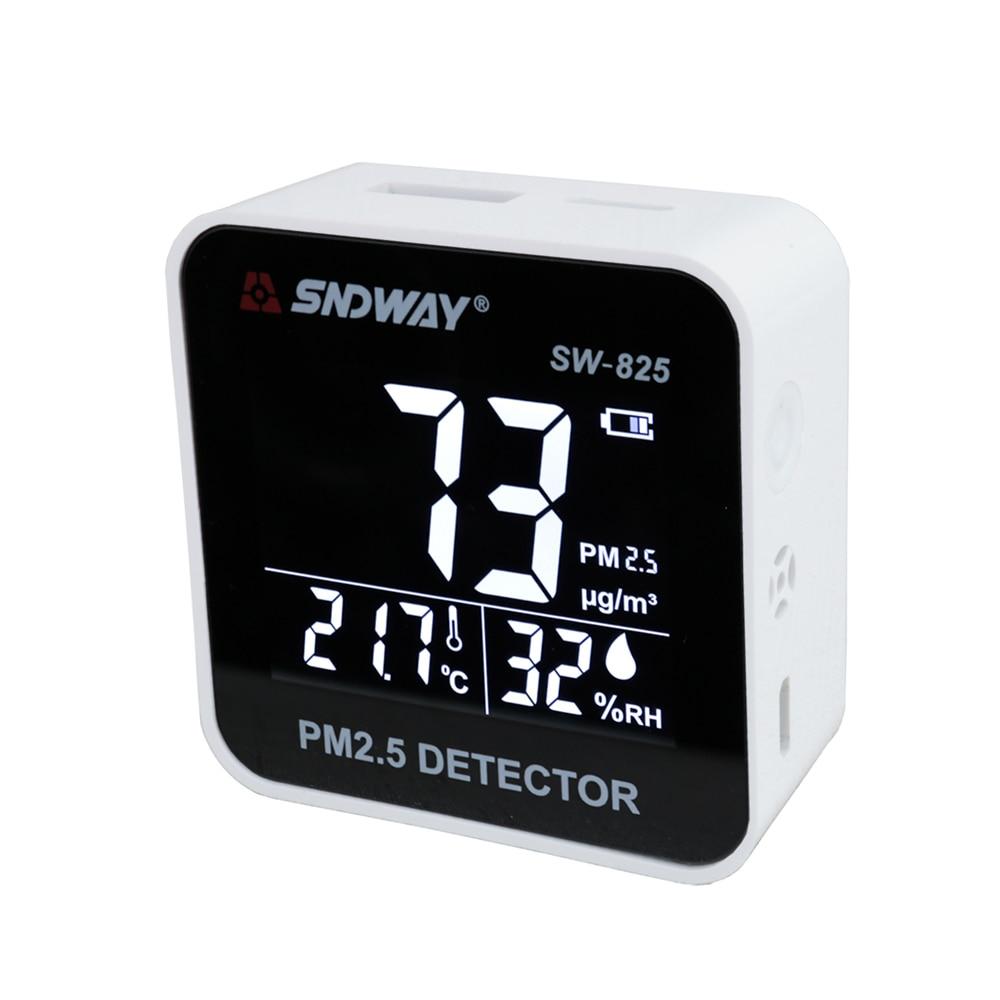 SNDWAY газоанализатор детектор Pm 2,5 контроль качества воздуха Pm2.5 детектора Электрический с ЖК-дисплеем Экран горючих газов дет