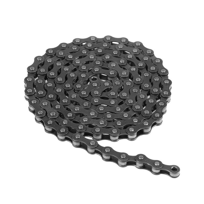 Bicycle Chain Links Single Speed MTB <font><b>Bike</b></font> Steel Chain for Fixed Gear Bicycle <font><b>Giant</b></font> <font><b>Bike</b></font> <font><b>Accessories</b></font> Cycling Parts of Steel image