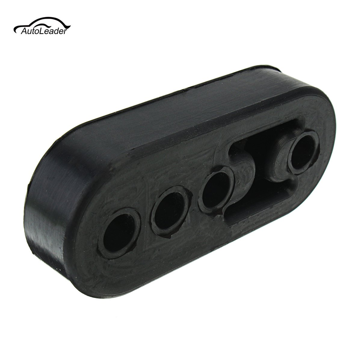 Universal Car Rubber Exhaust Hanger Pipe Mount Mounting Bracket Hanger Heavy   Replacement Sport Version 12mm 4 Holes