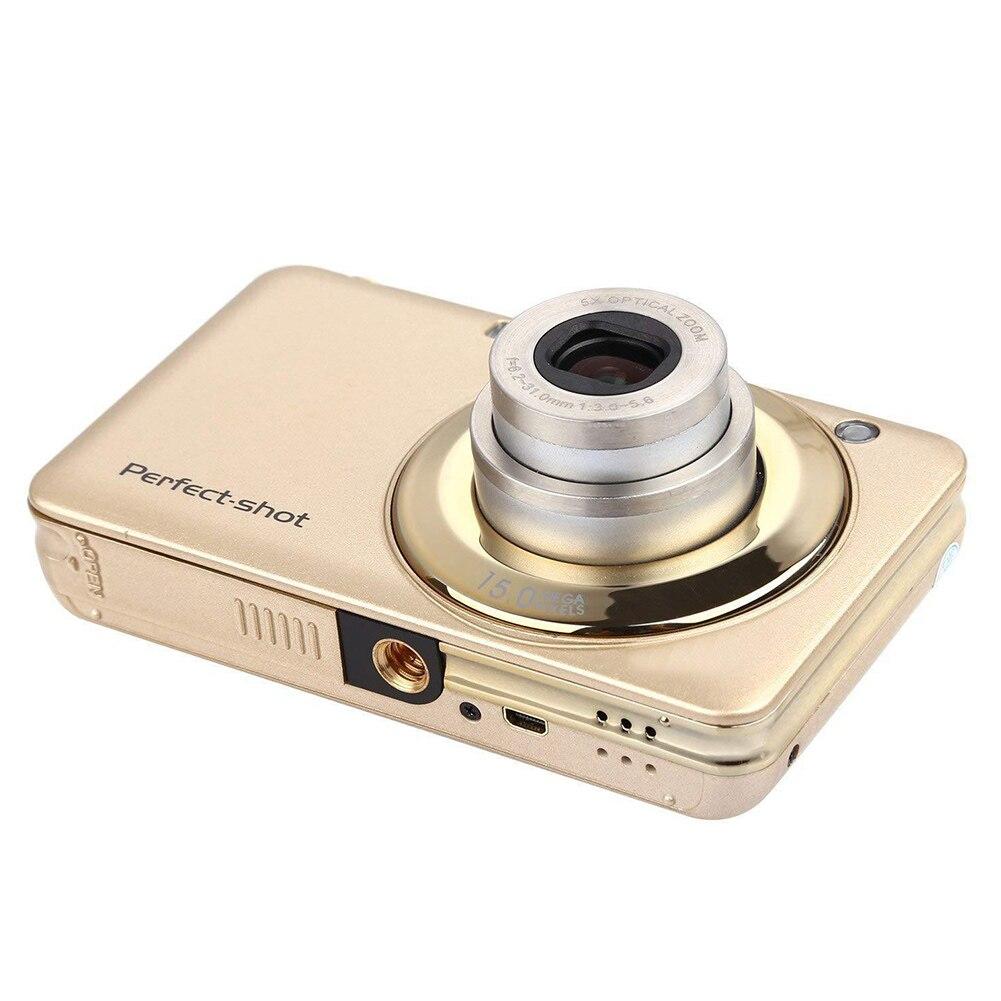 24MP haute définition enfants caméra numérique Zoom optique enregistrement vidéo extérieur Anti-secousse détection de visage coloré Photo Portable