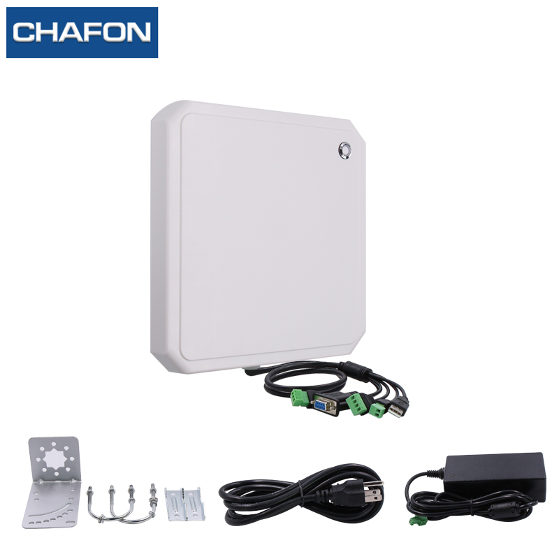 Image 5 - CHAFON 10M uhf rfid reader long range RS232 WG26 USB built in 9dbi circular antenna support firmware upgrade for car parking-in Control Card Readers from Security & Protection