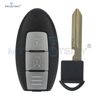 Smart key 2 button 433.9mhz for Nissan Qashqai X Trail keyless entry key S180144102 remtekey