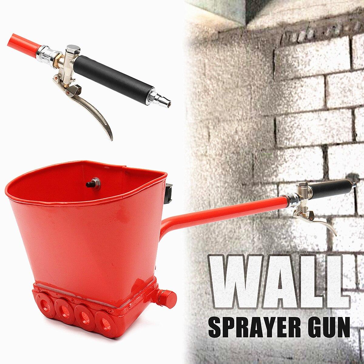 Fast Shipping Cement Spray Guns Mortar Sprayer Plaster Hopper Guns Render Sprayer Hopper Bucket Gypsum Guns hopper короткое платье