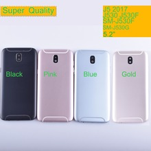 10Pcs/lot For Samsung Galaxy J5 2017 J530 J530F SM-J530F Housing Battery Cover Back Cover Case Rear Door Chassis Shell 10pcs lot for samsung galaxy j5 prime on5 2016 g570 g570k housing battery cover back cover case rear door chassis shell