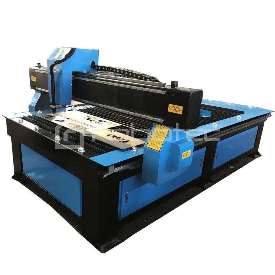 DÉMARRER LE contrôleur feuille métal CNC machine de découpe de plasma avec StarCAM logiciel, 4x8 pieds machine de découpe plasma cnc chine pour vente