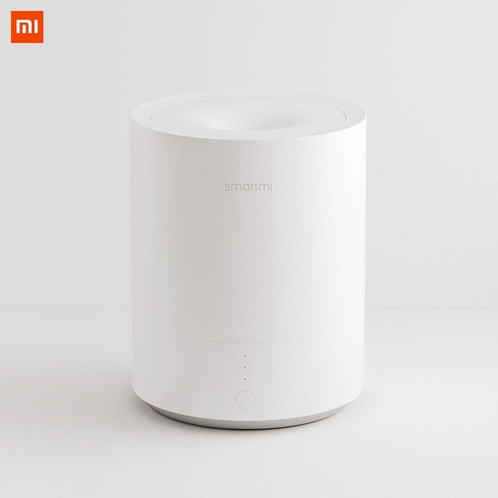 Xiaomi Smartmi nouveau 2.25L humidificateur d'air efficace aromathérapie humidificateur d'air diffuseur d'huile essentielle brume chaude fonctionnement silencieux