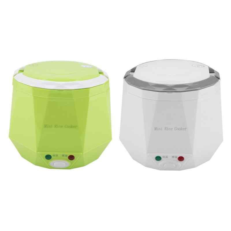 Portable Mobil Listrik Rice Cooker Isolasi Pemanas Listrik Kotak Makan Steamer untuk Truk Multifungsi Otomatis 24 V 180 W