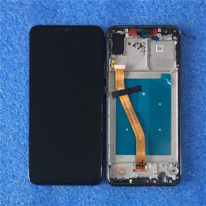 Original Axisinternational LCD Frame For 6 3 Huawei Nova 3 PAR LX1 INE LX2 LCD Display