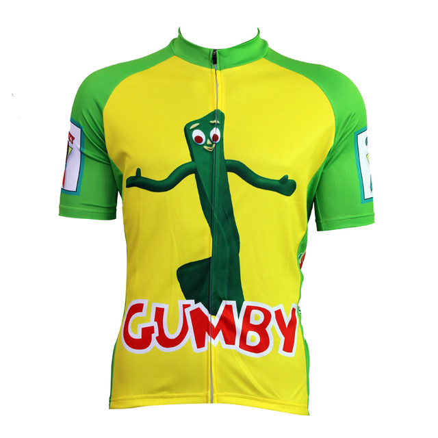 05a922b8f 2018 Top Fashion Silk Ropa Ciclismo Maillot Ciclismo New Gumby Cycling  Shirt Bike Equipment Mens Clothing Size 2xs To Ilpaladin
