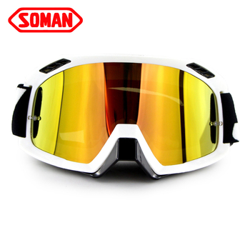 SOMAN de la bici de la suciedad moto Cruz gafas moto rcyclist anteojos occhiali casco moto gafas moto motociclismo gafas SM15