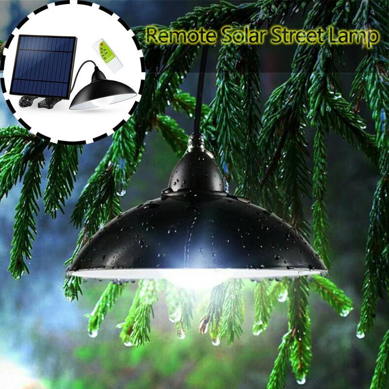 12LED Solar Street Light Chandelier Remote Control Garden Lawn Floodlight  Night Light Home Garden Decoration
