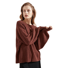 New sweater cashmere 2018 autumn and winter new Euramerican o-neck womens bottoming shirt 3119