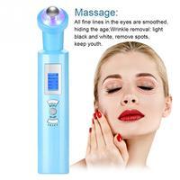 Electric Eye Massage 360 Rolling Anti Dark Circle Wrinkle Removal Eye Roller Anti Aging Eye Massager Skin Care Tool 4