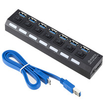 USB HUB 3.0 4/7 Ports Micro USB 3.0 HUB Splitter With Power Adapter USB Hab High Speed 5Gbps USB Splitter 3 HUB For PC binful super speed usb 3 0 hub 3 port 5gbps micro usb hub high quality hub usb splitter adapter for pc computer