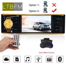 LTBFM Car Radio 1 din 4019B FM Radio Car Auto Audio Stereo MP5 Car Player Bluetooth