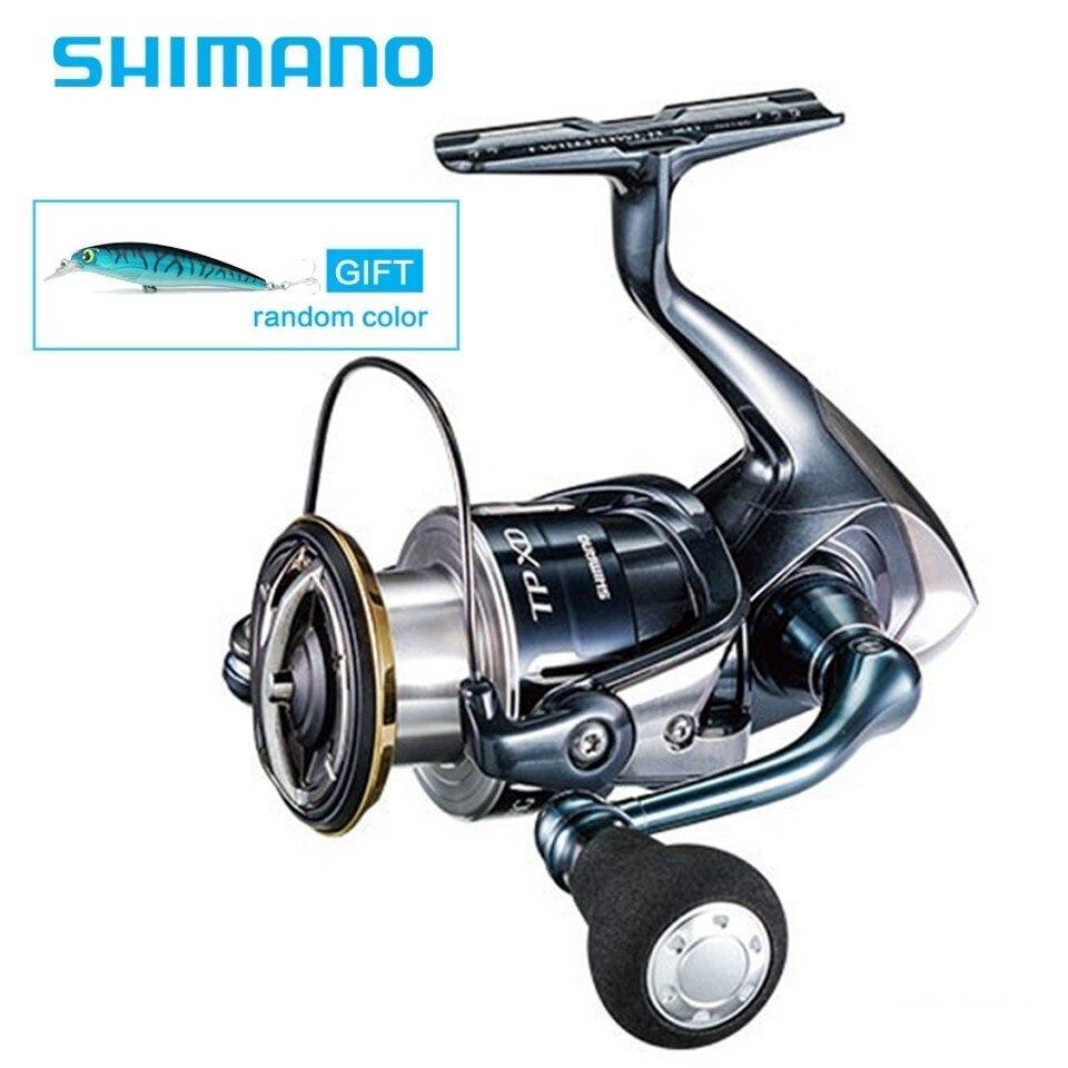 Le plus récent Shimano Original TWINPOWER XD C3000HG 4000XG C5000XG 9 + 1BB moulinet de pêche fabriqué au japon HAGANE corps étanche à l'eau