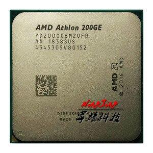Image 2 - AMD Athlon 200GE X2 200GE 3.2 GHz dwurdzeniowy czterordzeniowy procesor CPU YD200GC6M2OFB / YD20GGC6M2OFB gniazdo AM4