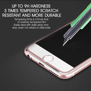 Image 5 - 9D Aluminium Legierung Display schutz Auf Die Für iPhone 6 7 8 Plus X Voll Gehärtetem Glas Für iPhone 11 pro 8 SE 5s Schutz Glas