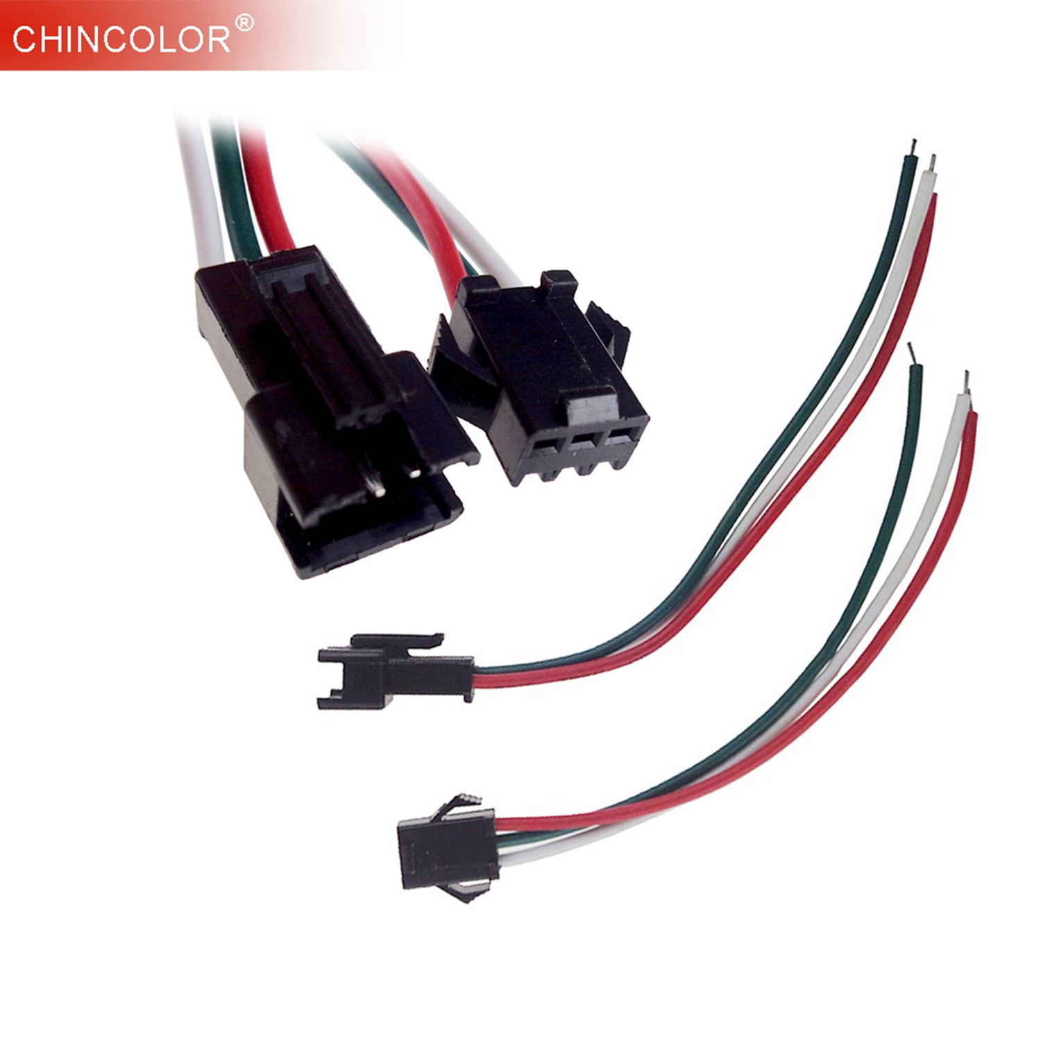 10 Pairs Connector Female Male Ws2811 Ws2812b Sk6812 3pin