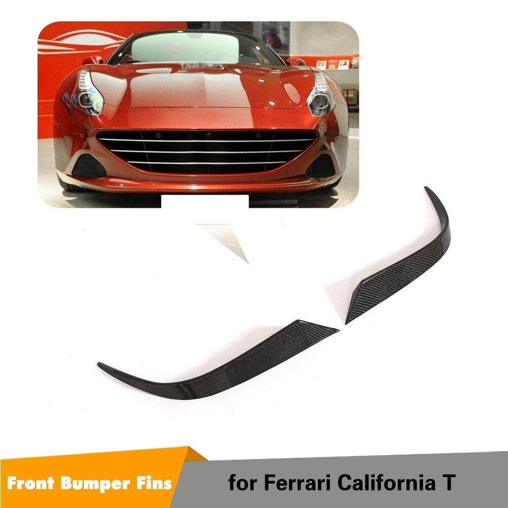 Ailerons de pare-chocs avant en Fiber de carbone pour Style Ferrari California 2015-2018 T