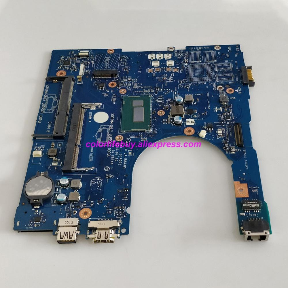 Image 5 - Genuine CN 0W45H6 0W45H6 W45H6 AAL10 LA B843P w I3 4030U CPU Laptop Motherboard for Dell Inspiron 5458 5558 5758 Notebook PC-in Laptop Motherboard from Computer & Office