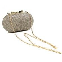 Golden Evening Clutch Bag