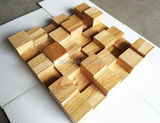 2 Units 60*60*9cm Skyline Music Studio Acoustic Diffuser Efficient Solid wood stereo Sound Diffuser Acoustic System