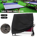 Ping Pong Table Storage Cover Indoor/Outdoor Table Tennis Sheet Waterproof