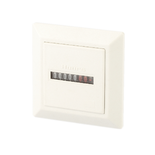 10PCS LOT Register display HM 1 Hour Meter White Black Type Counter AC220 240V 60HZ 0