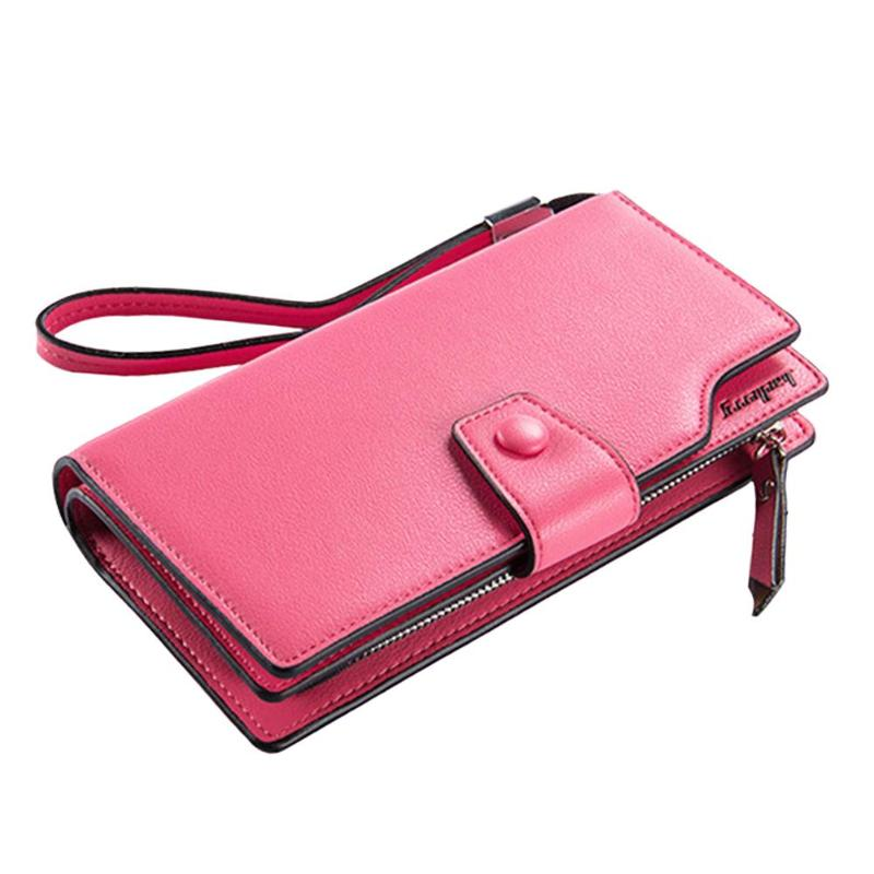Brand Wallet Women top quality leather wallet female multifunction purse long big capacity card holders Purse 2019 new