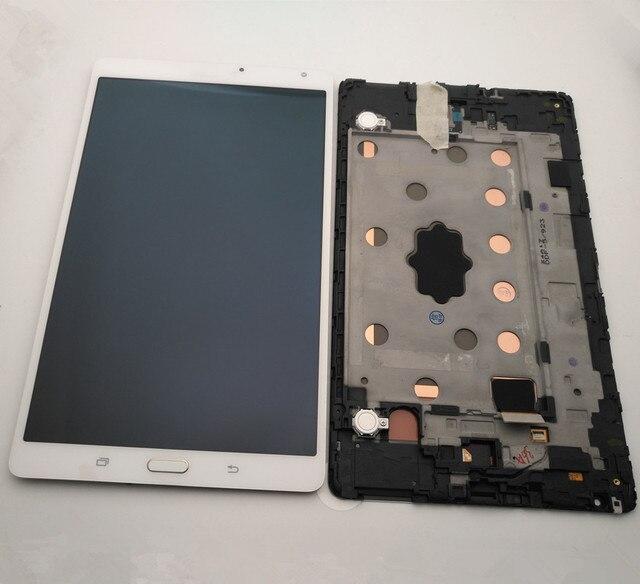 """8.4 """"لسامسونج غالاكسي تبويب S 8.4 T700 T705 شاشة LCD + شاشة تعمل باللمس محول الأرقام الجمعية لسامسونج غالاكسي تبويب S عرض SM T705"""